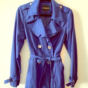 Classic Double Breasted Trench Coat (barely worn)